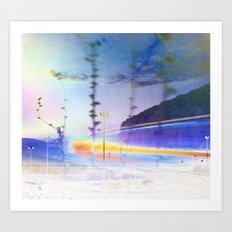 road.inversed Art Print