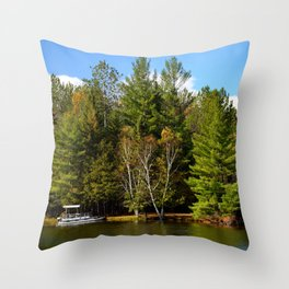 Seclusion Throw Pillow