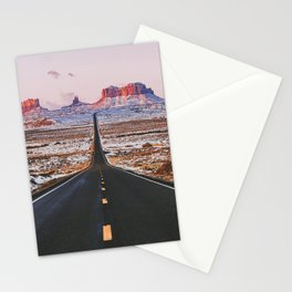 Monument Valley Sunrise Stationery Cards