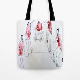 Going Through The Motions Tote Bag