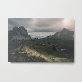 Schynige Platte Metal Print