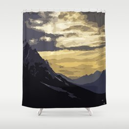 Peaceful nights Shower Curtain