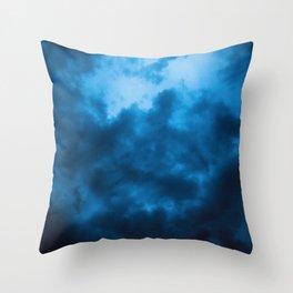 Brewing Storm Throw Pillow