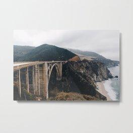 California Beautiful Bridge Metal Print
