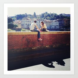In Rome & In Love Art Print