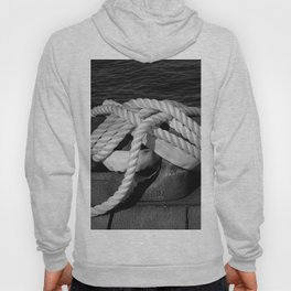 Mooring Rope tied to the dock Hoody