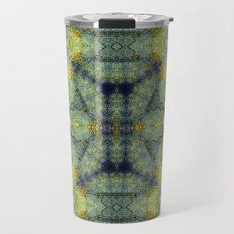 Simone in Blue and Green Travel Mug