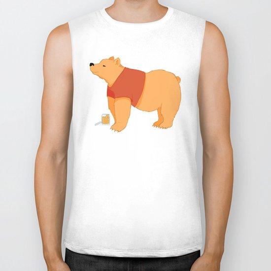 Pooh Bear Biker Tank