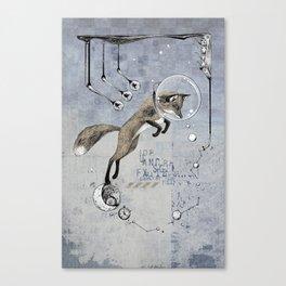 Relativity Fox Trot Canvas Print