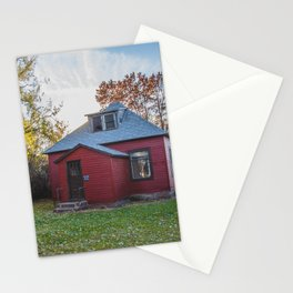 Abandoned House, Chaseley, North Dakota 3 Stationery Cards