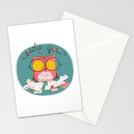 Owly You Stationery Cards
