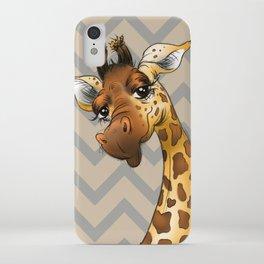 Chevron Giraffe! iPhone Case