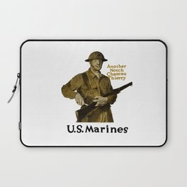 Marines -- Another Notch Chateau Thierry Laptop Sleeve