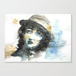 Love Mime Canvas Print