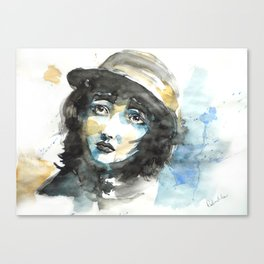 Love Mime Canvas Print