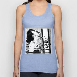 asc 778 - La lione blessée (Love is a killer) Unisex Tank Top