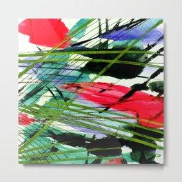 Abstract Joy 3A by Kathy Morton Stanion Metal Print