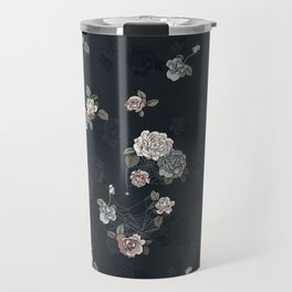 Ghost Roses Travel Mug