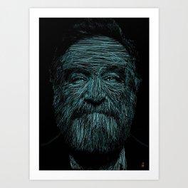 Williams by Blake Byers Art Print