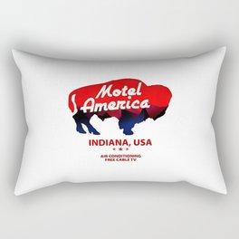 indiana usa Rectangular Pillow