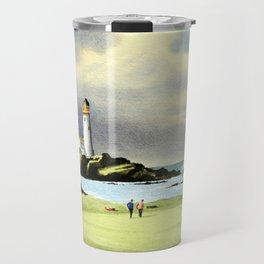 Turnberry Golf Course 10th Green Travel Mug