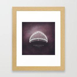 GRLS RULE - The Shamrock Kokoshnik Tiara Framed Art Print