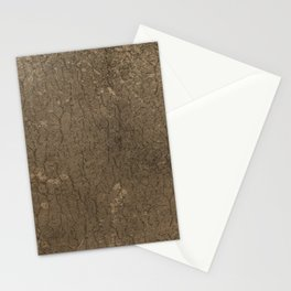 Rustic Tree Bark Pattern Stationery Cards