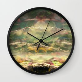 Head in the Clouds by Debbie Porter - Designs of an Eclectique Heart Wall Clock