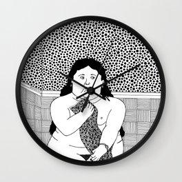 Botero. Woman in bath. 1955 Wall Clock