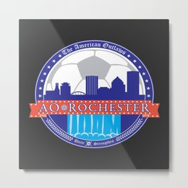 2013 Rochester Outlaws Logo Metal Print