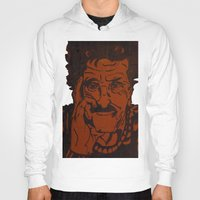 kurt vonnegut Hoodies featuring Kurt Vonnegut, Jr. by Emily Storvold