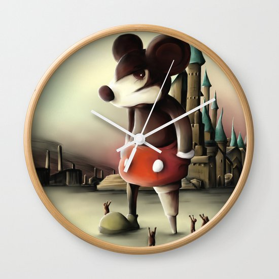 Mickey's Kingdom Wall Clock
