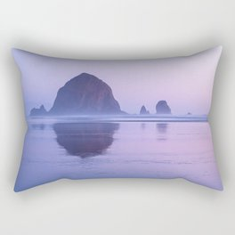 Haystack Rock Rectangular Pillow