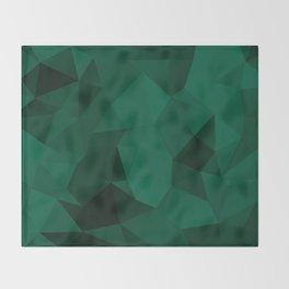 Emerald Throw Blanket