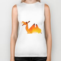 camel Biker Tanks featuring Camel by Sukanto Debnath