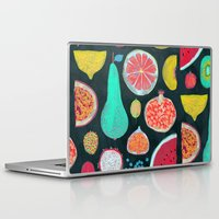 fruit Laptop & iPad Skins featuring Fruit by Mouni Feddag