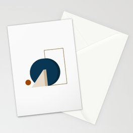 Abstrato 03 // Abstract Geometry Minimalist Illustration Stationery Cards