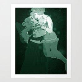 Ghost GFs Art Print
