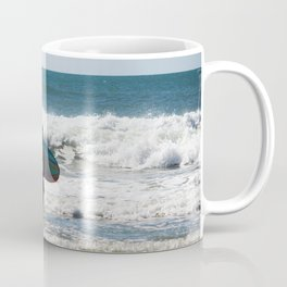 Surfer Dude At The Beach Coffee Mug