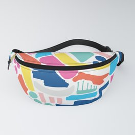 Colour Scatter Fanny Pack