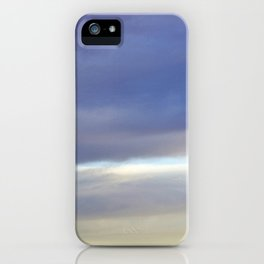 Evening Mountains iPhone Case