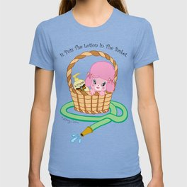 It puts the lotion in the basket. // Silence of the Lambs T-shirt