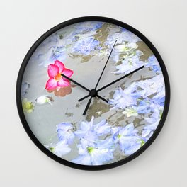 Stand Out In The Crowd Wall Clock