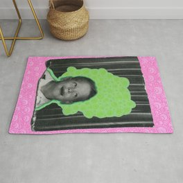 Listening The Bubbles Rug