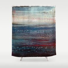 Lonely Rivers Sigh Shower Curtain