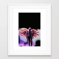artrave Framed Art Prints featuring LG - artRAVE by Illuminany