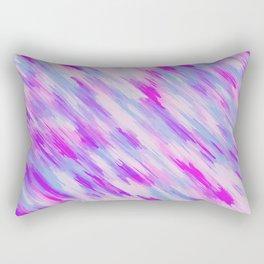 purple and pink painting texture Rectangular Pillow