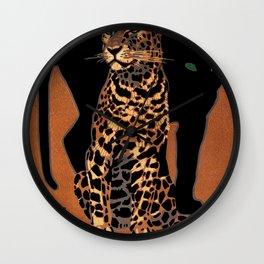 Vintage Munich Zoo Leopard 1912 Advertisement Wall Clock