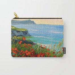 Flowers by the sea Carry-All Pouch
