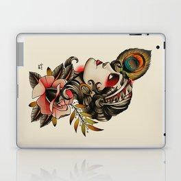 Gipsy girl - tattoo Laptop & iPad Skin